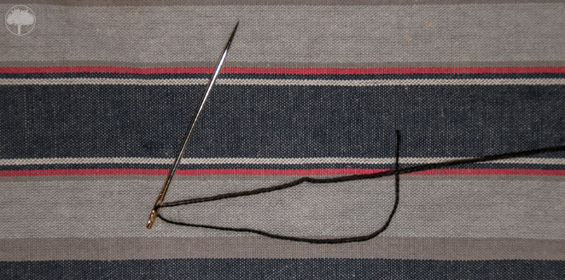 Tjikko - Nadel und Faden